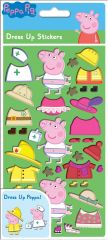 Licensed Character Dress Up Stickers - Peppa Pig