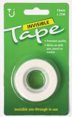 Invisible Tape Refill 19mm x 25m