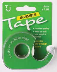 Invisible Tape19mm x 7.5m + Dispenser