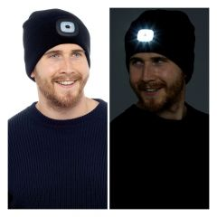 Hat With LED Black