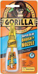 Gorilla Superglue 12g Brush & Nozzle