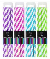 Paper Straws Pack of 30