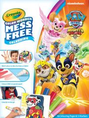 Crayola Colour Wonder Paw Patrol Mighty Pups