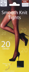 Pretty Legs Tights 20 Denier Nearly Black XXL