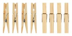 Wooden Clothes Pegs 36's