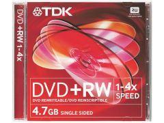 TDK DVD+RW 5 Pack Jewel Case