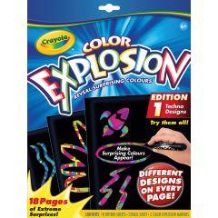 Crayola Color Explosion Extreme Black Foldalope