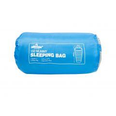 Milestone Camping Mummy Sleeping Bag 150g Single - Blue