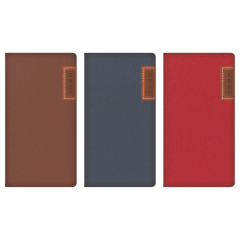 2021 Slim Diary WTV Embossed & Stitched Panel