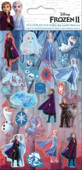 Licensed Character Stickers Small Foil Packs - Frozen 2