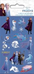 Licensed Character Stickers Party 6 Sheets - Frozen 2