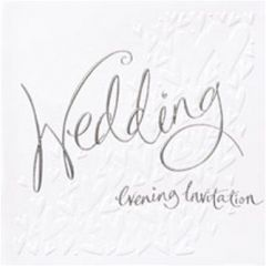 Wedding Evening Invitation Cards