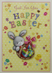 Easter Card - Open