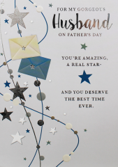 Father's Day Card - Husband