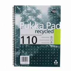 Pukka Pad A4 Recycled Jotta Wirebound Notebook 110 pages