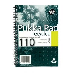 Pukka Pad A5 Recycled Jotta Wirebound Notebook 110 pages