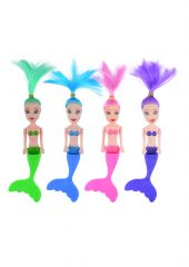 Mermaid Doll 14cm - Assorted Colours