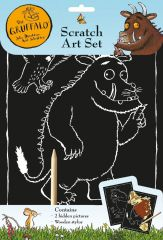 Gruffalo Scratch Art