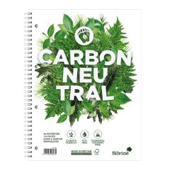 Wholesale Silvine Carbon Neutral A4+ Twin Wire Notebook