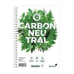 Wholesale Silvine Carbon Neutral A5 Twin Wire Notebook