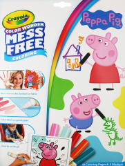 Crayola Color Wonder Peppa Pig