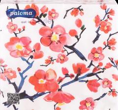 Paloma 20 Botanic Napkins 33cm 3 Ply