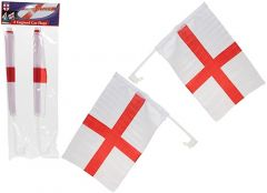 England Twin Pack Flags