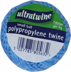 Ultratwine Polypropylene Twine Ball 60m Assorted Colours