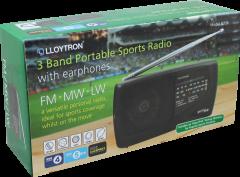 Radio - Battery Operated With Earphones