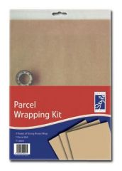 Office Style Parcel Wrapping Kit Hang Pack