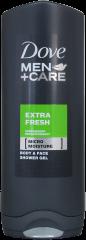 Dove Shower Gel For Men Extra Fresh 250ml
