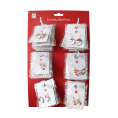 Xmas Earrings 3 Designs