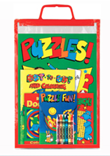 Activity Carry Pack Colouring/Activity Books & Coloured Pencils PMP £0.99p