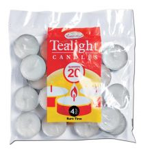 Tealight Candles Pack Of 20