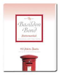 Basildon Bond White Writing Pad Duke 40 Sheets