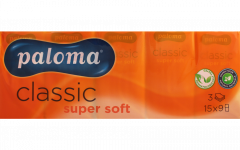 Paloma Pocket Tissues 3 Ply (Shrinkwrapped in 15's)