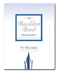 Basildon Bond Blue Writing Pad Duke 40 Sheets