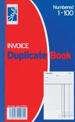 Office Style Invoice Duplicate Book 206mm x 127mm