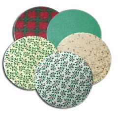 Christmas Cakecards Double Thick Round 254mm x 3mm