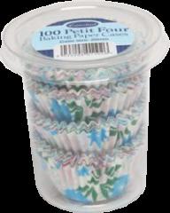 Floral Petit Four Cases Boxed 100's