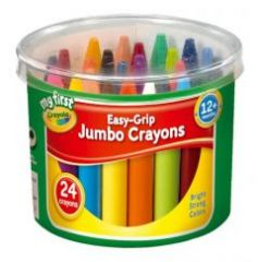 Crayola My First Jumbo Crayons 24's Hang Pack
