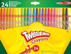 Crayola Twistable Crayons 24's Hang Pack