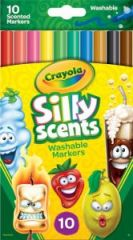 Crayola Fineline Scented Markers 10's Hang Pack