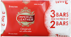 Imperial Leather Original Soap 100g 3 for 2