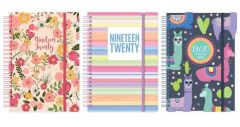 Student Academic Diary A5 Wiro DAP Assorted Designs