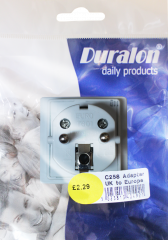 Duralon Travel Adaptor (UK to Europe)