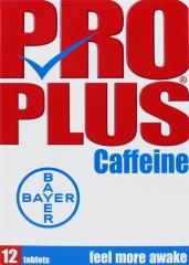 Pro Plus Caffeine Tablets 12's