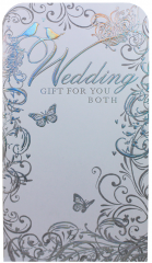 Wedding Gift Money Wallet Foil Pack 93 x 178mm