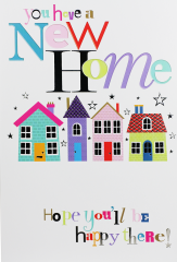 New Home Card - Word Play By Simon Elvin