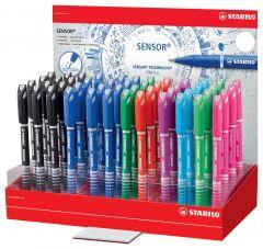 Stabilo Sensor Pen Assorted Colours CDU